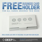 Deep's latest email marketing promotion